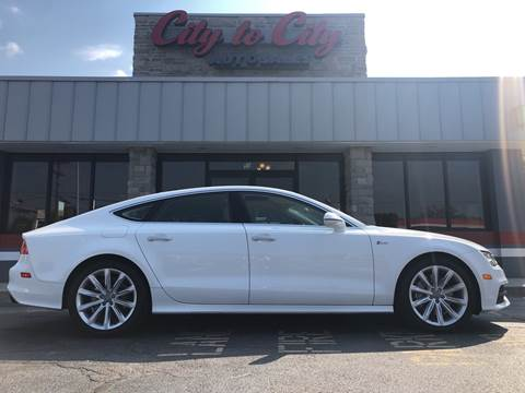 2013 Audi A7 for sale at City to City Auto Sales in Richmond VA
