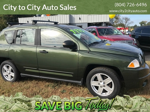 2008 Jeep Compass for sale at City to City Auto Sales - Raceway in Richmond VA