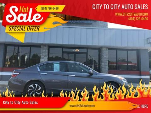 2016 Honda Accord for sale in Richmond, VA