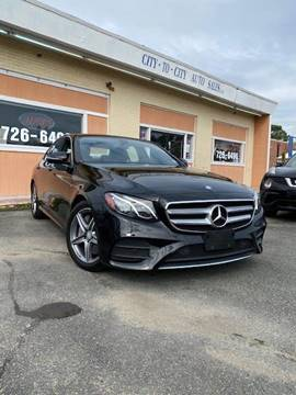 2017 Mercedes-Benz E-Class for sale at City to City Auto Sales in Richmond VA