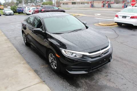 2017 Honda Civic for sale at City to City Auto Sales - Raceway in Richmond VA