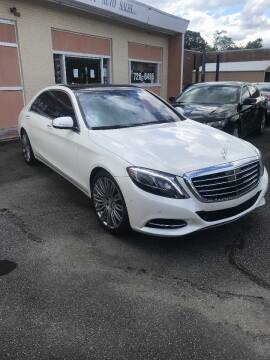 2015 Mercedes-Benz S-Class for sale at City to City Auto Sales in Richmond VA