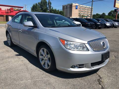 2011 Buick LaCrosse for sale at City to City Auto Sales in Richmond VA