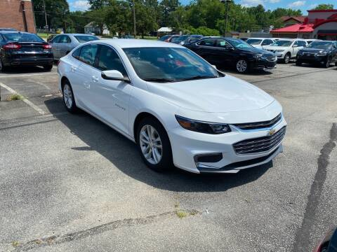 2016 Chevrolet Malibu for sale at City to City Auto Sales in Richmond VA