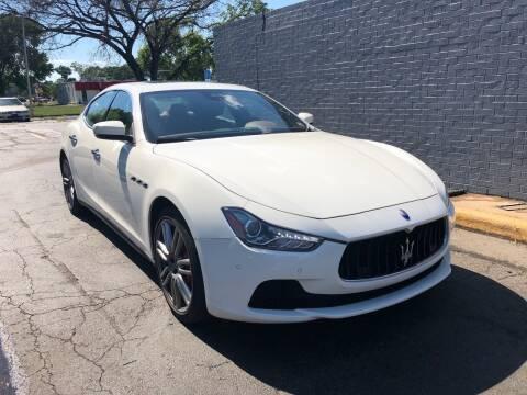 2017 Maserati Ghibli for sale at City to City Auto Sales in Richmond VA