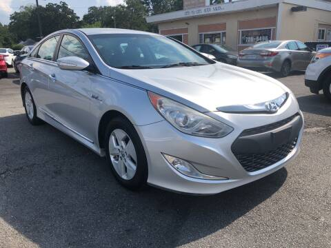 2012 Hyundai Sonata Hybrid for sale at City to City Auto Sales in Richmond VA