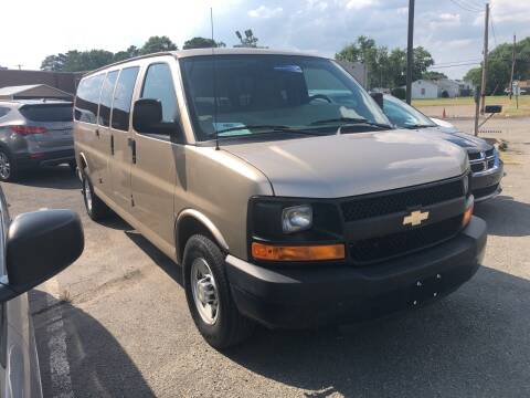 2012 Chevrolet Express Passenger for sale at City to City Auto Sales in Richmond VA