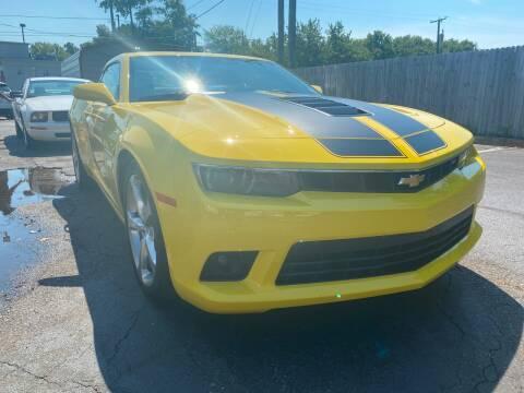 2015 Chevrolet Camaro for sale at City to City Auto Sales in Richmond VA