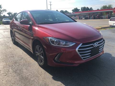 2017 Hyundai Elantra for sale at City to City Auto Sales in Richmond VA