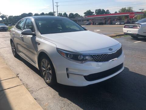 2016 Kia Optima for sale at City to City Auto Sales in Richmond VA