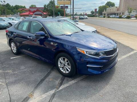 2017 Kia Optima for sale at City to City Auto Sales in Richmond VA