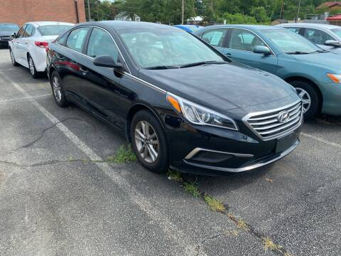 2017 Hyundai Sonata for sale at City to City Auto Sales in Richmond VA