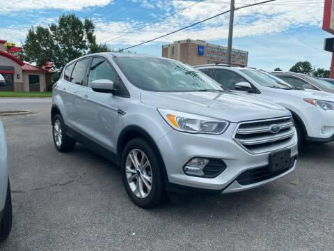 2017 Ford Escape for sale at City to City Auto Sales in Richmond VA