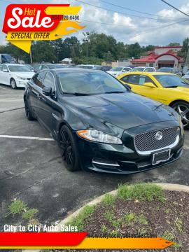 2011 Jaguar XJL for sale at City to City Auto Sales in Richmond VA