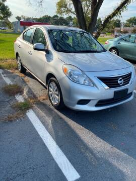 2012 Nissan Versa for sale at City to City Auto Sales in Richmond VA
