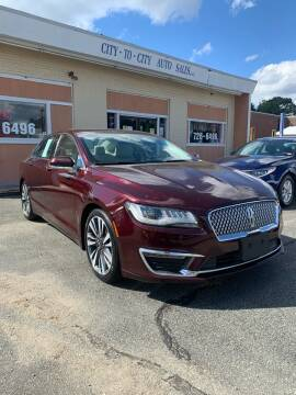 2017 Lincoln MKZ for sale at City to City Auto Sales in Richmond VA