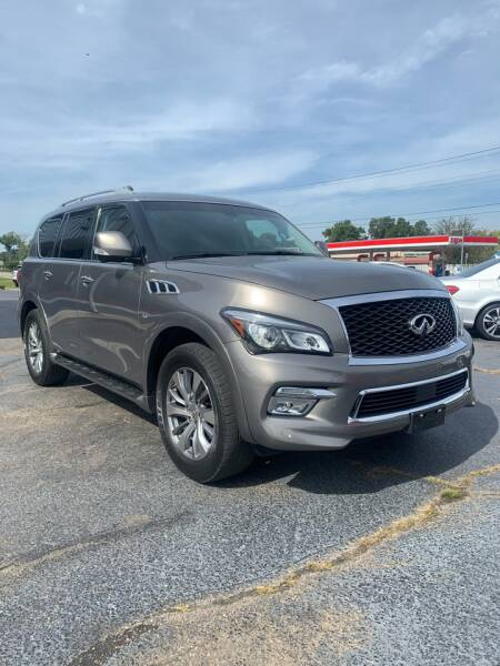 2015 Infiniti QX80 for sale at City to City Auto Sales in Richmond VA