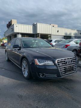 2012 Audi A8 L for sale at City to City Auto Sales in Richmond VA