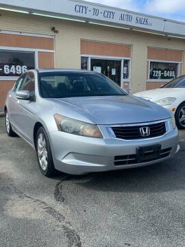 2008 Honda Accord for sale at City to City Auto Sales in Richmond VA