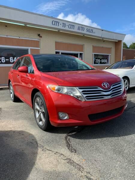 2010 Toyota Venza for sale at City to City Auto Sales in Richmond VA