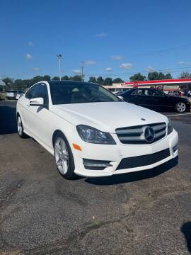 2013 Mercedes-Benz C-Class for sale at City to City Auto Sales - Raceway in Richmond VA