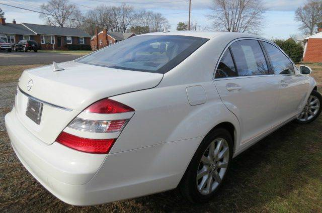 2007 Mercedes-Benz S-Class for sale at CITY TO CITY AUTO SALES LLC in Richmond VA