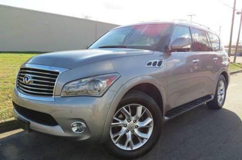 2011 Infiniti QX56 for sale at CITY TO CITY AUTO SALES LLC in Richmond VA