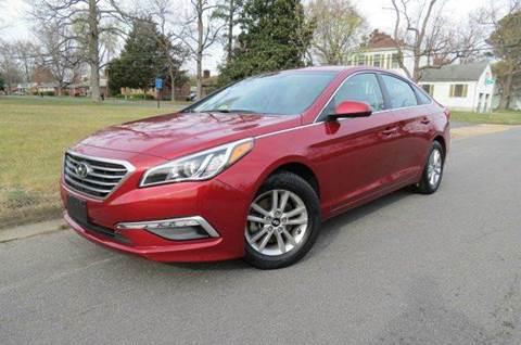 2015 Hyundai Sonata for sale at CITY TO CITY AUTO SALES LLC in Richmond VA