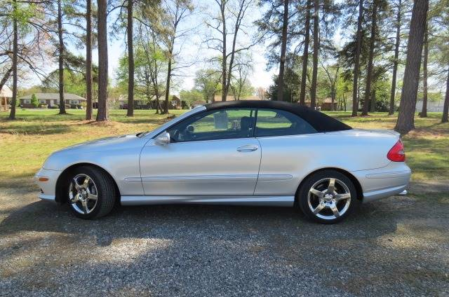 2007 Mercedes-Benz CLK for sale at CITY TO CITY AUTO SALES LLC in Richmond VA