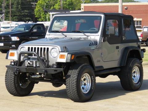2001 Jeep Wrangler for sale at Tyler Car  & Truck Center in Tyler TX