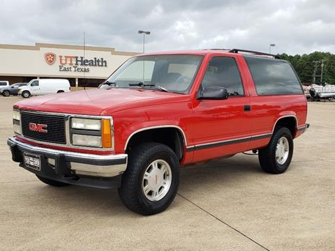 1992 GMC Yukon for sale in Tyler, TX