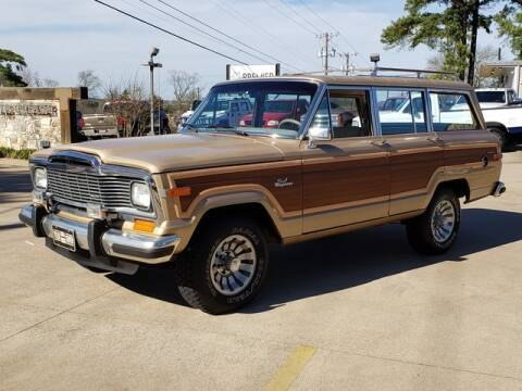 1984 Jeep Grand Wagoneer for sale at Tyler Car  & Truck Center in Tyler TX
