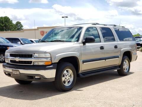 2001 Chevrolet Suburban for sale at Tyler Car  & Truck Center in Tyler TX