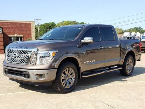 2018 Nissan Titan for sale at Tyler Car  & Truck Center in Tyler TX