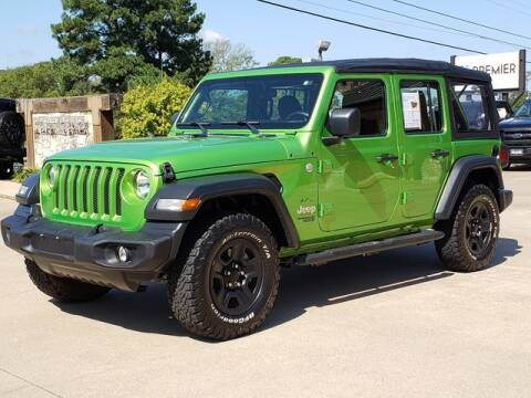 2018 Jeep Wrangler Unlimited for sale at Tyler Car  & Truck Center in Tyler TX