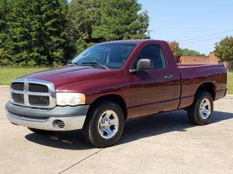 2003 Dodge Ram Pickup 1500 for sale at Tyler Car  & Truck Center in Tyler TX