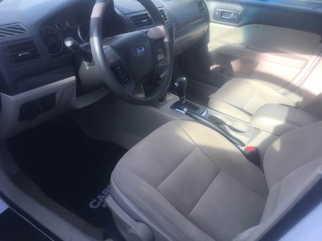 2007 Ford Fusion I-4 S 4dr Sedan - Caro MI