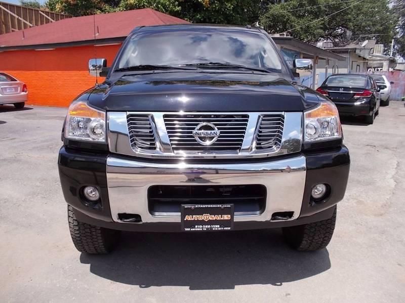 2013 Nissan Titan 4x4 SV 4dr Crew Cab SWB Pickup - San Antonio TX