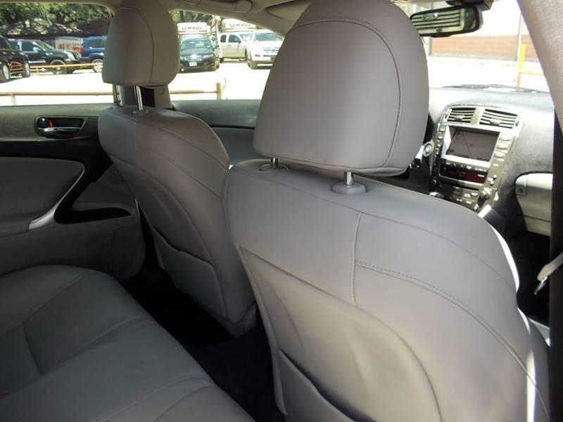 2006 Lexus IS 350 4dr Sedan - San Antonio TX