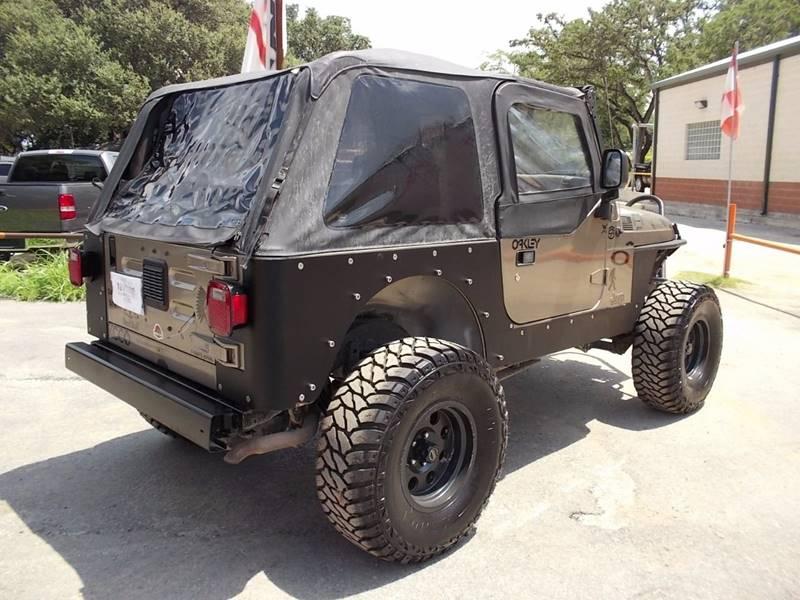 2003 Jeep Wrangler X 4WD 2dr SUV - San Antonio TX