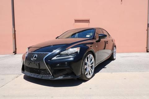 2014 Lexus IS 350 for sale at 57 Auto Sales in San Antonio TX