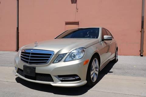 2013 Mercedes-Benz E-Class for sale at 57 Auto Sales in San Antonio TX