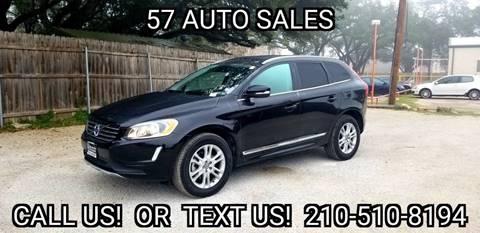 2016 Volvo XC60 for sale at 57 Auto Sales in San Antonio TX