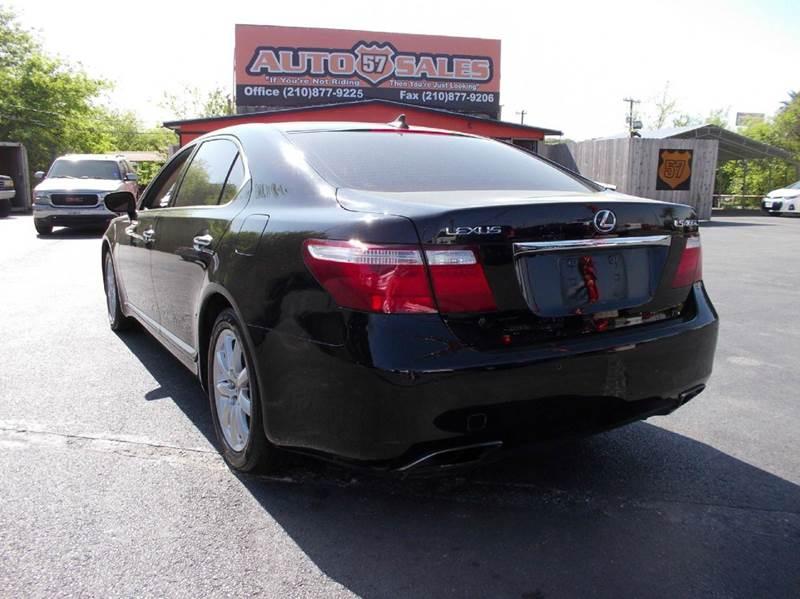 2007 Lexus LS 460 L 4dr Sedan - San Antonio TX