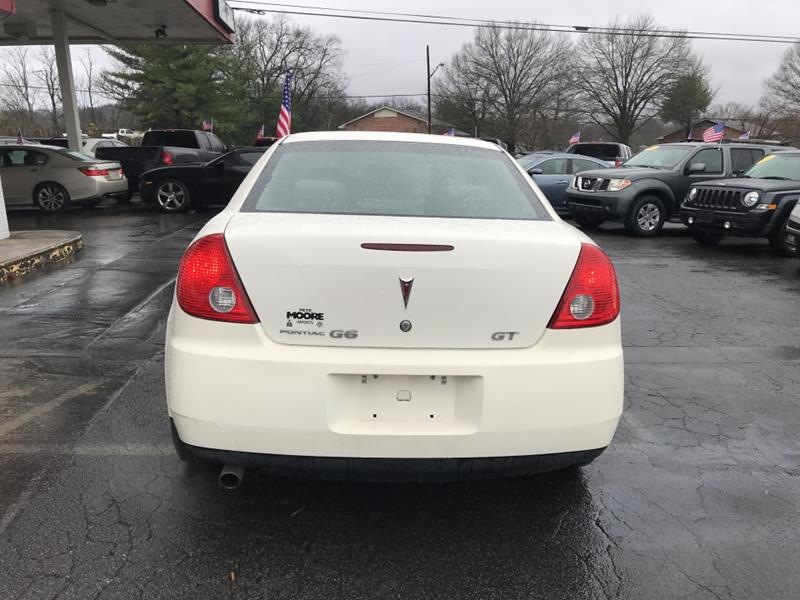 2008 Pontiac G6 GT 4dr Sedan In Nashville TN - New Day Auto Sales