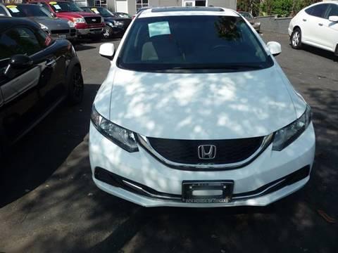 2013 Honda Civic for sale in Pasadena, CA