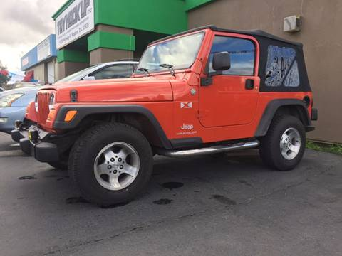 2005 Jeep Wrangler for sale in Madera, CA