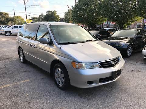 2004 Honda Odyssey for sale in Houston, TX