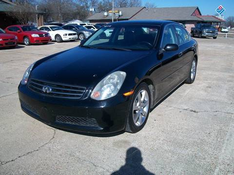 2005 Infiniti G35 For Sale In Greenwood, MS