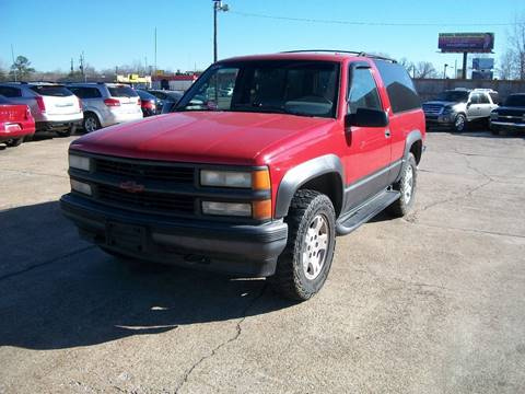 1996 Chevrolet Tahoe For Sale In Greenwood MS